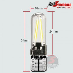 Festoon CANBUS 36mm / 39 mm 16 Led 1210 12v Blanco