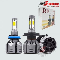 Barra Led Cob DRL 12v 21 Cm Set 2 Unid.