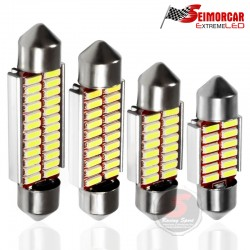 Ampolleta S25 1156/1157 68LED 1210 12V